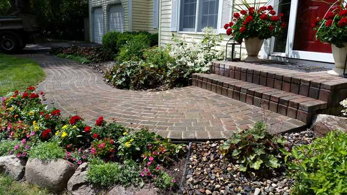 Paver Driveway And Walkway Landscaping Services